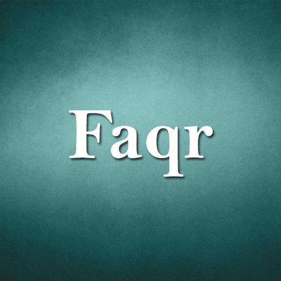 Faqr, alfaqr