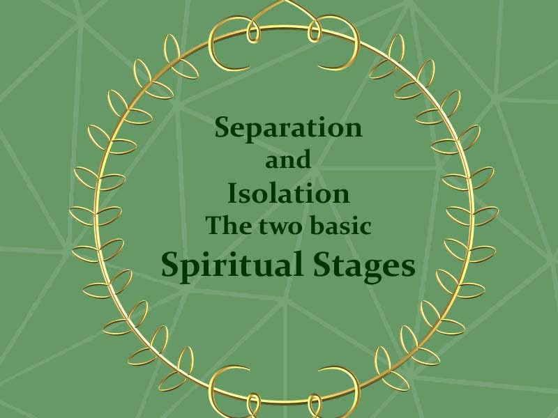 Separation, Isolation, Sultan ul Faqr